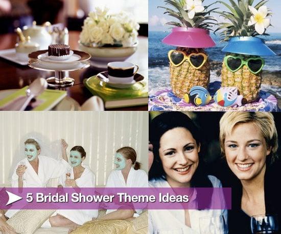 Five Bridal Shower Theme Ideas