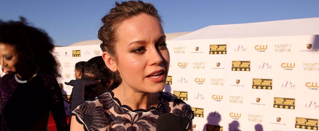 Brie Larson Compares Filming Short Term 12 to Singing in the Mirror