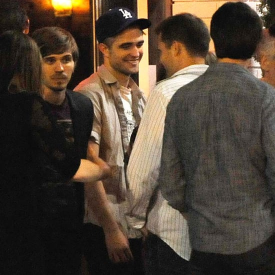Robert Pattinson at Cosmopolis Wrap Party