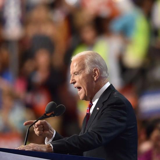 Joe Biden DNC 2016 Speech Reactions