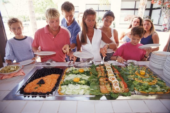 Healthy Eating Tip: Hit the Buffet