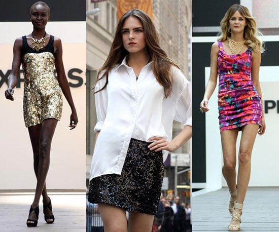 Express Fashion Show at the New York Stock Exchange