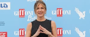 Jennifer Aniston's Dress Looks Like It's Covered in Polka Dots — Until You Zoom In