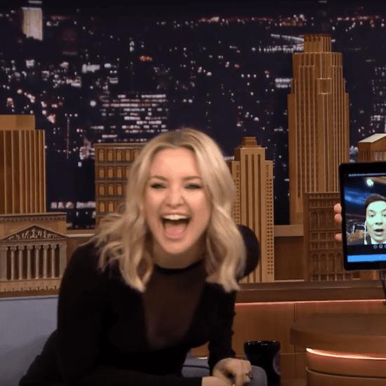 Kate Hudson Dubsmash on Jimmy Fallon January 2016