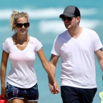 Michael Buble and Luisana Lopilato in Miami