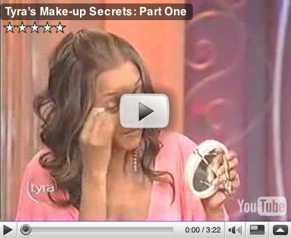 Tyra Shares Her Makeup Tips