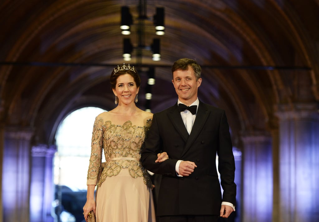 Princess Mary and Prince Frederik Attend a Royal Dinner in Amsterdam