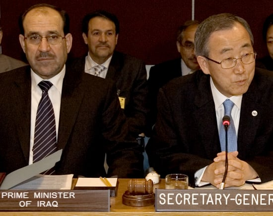 Progress in Iraq Gives UN Secretary General Hope