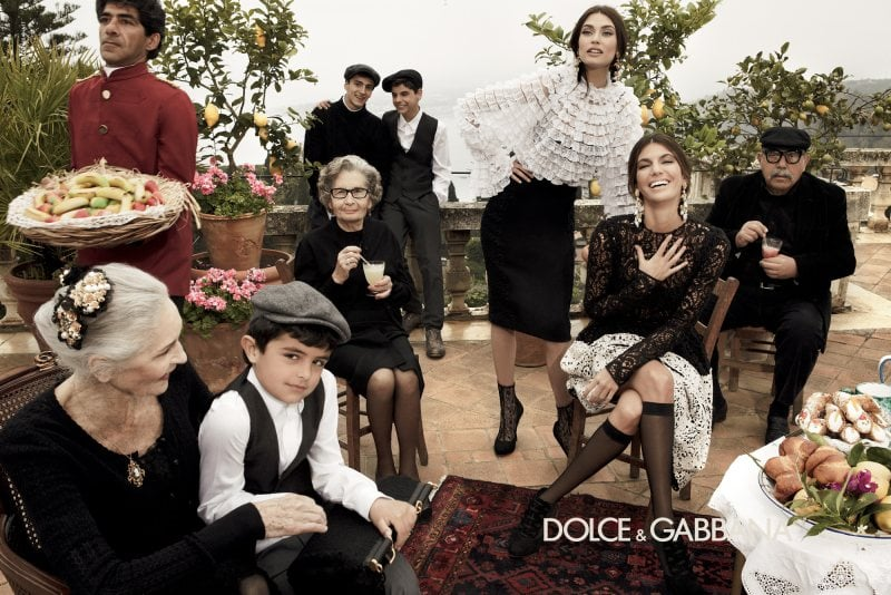 Pulling from traditional Italian scenery, we wish we were a part of the Dolce & Gabbana famiglia.
