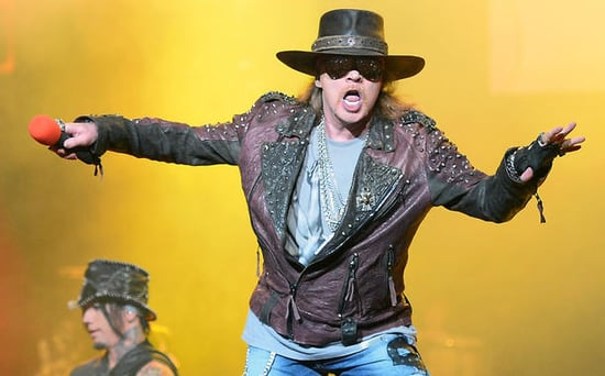 FROM EW: Guns N' Roses Reuniting for Coachella and Stadium Tour: Report