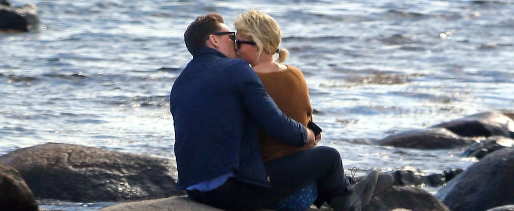 Taylor Swift and Tom Hiddleston Pack On the PDA While Sweetly Sitting by the Ocean
