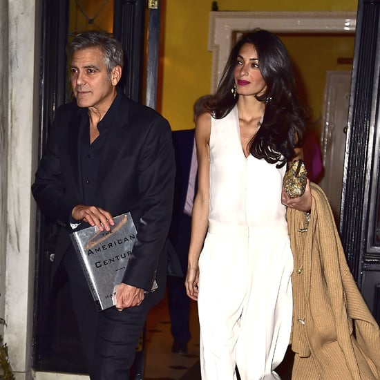 Amal Alamuddin Style Pictures