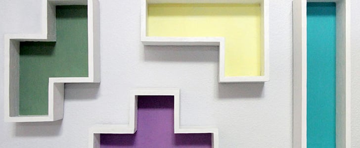 Learn How to DIY These Awesome Tetris Shelves