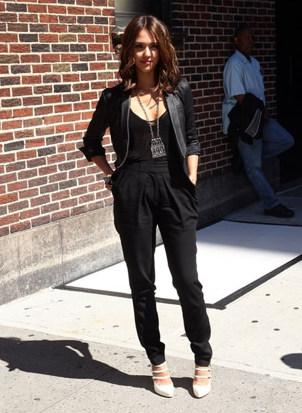 Did you love her all-black look in NYC? Get it now!