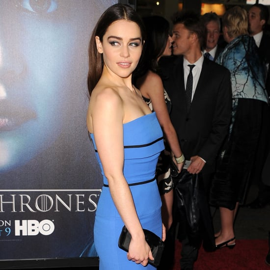 Emilia Clarke Game of Thrones Red-Carpet Style | Pictures