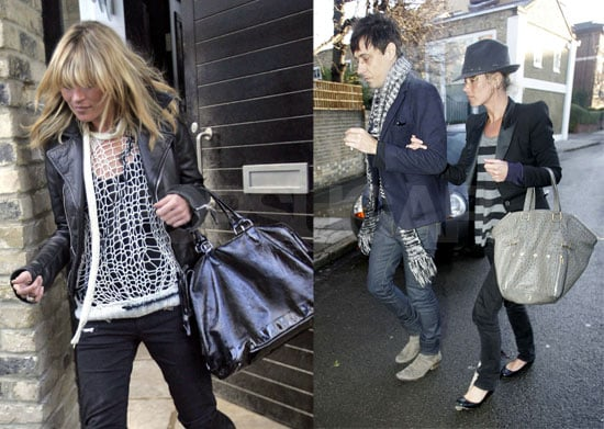 Kate Moss Moves into New House in London