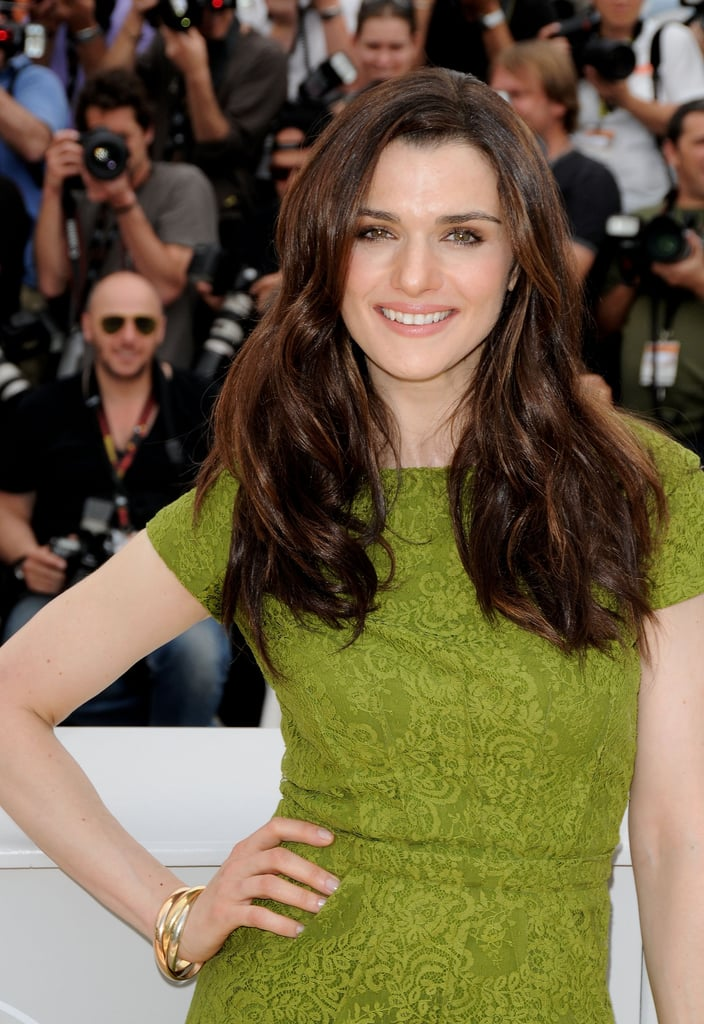 Rachel attended the 2009 Cannes Film Festival with her long hair worn in textured waves, which she accentuated with a naturally flattering makeup palette.