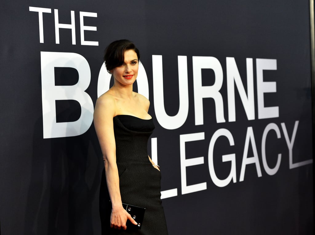 Rachel Weisz stepped onto the red carpet wearing Dior at the world premiere of The Bourne Legacy in NYC.