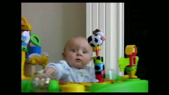 Video of Baby Reacting to Mom's Sneeze