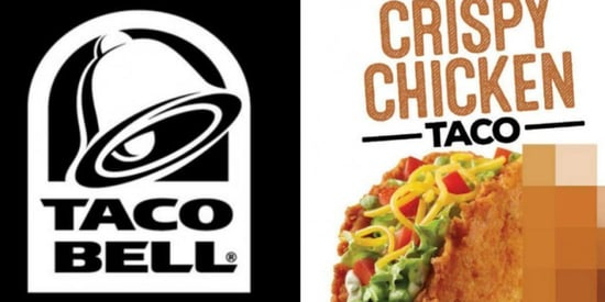 Taco Bell Tests Out 'Healthy Taco' With Fried Chicken Shell