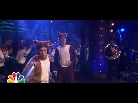 """Jimmy Gets in on """"The Fox"""""""