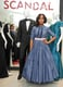 Washington promoted the third season of Scandal at Saks Fifth Avenue in New York city wearing a custom Prada ball gown.