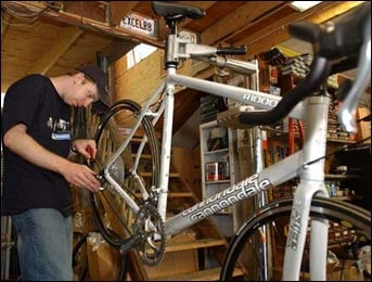 Spring Biking Tips:  Get Your Bike Tuned Up