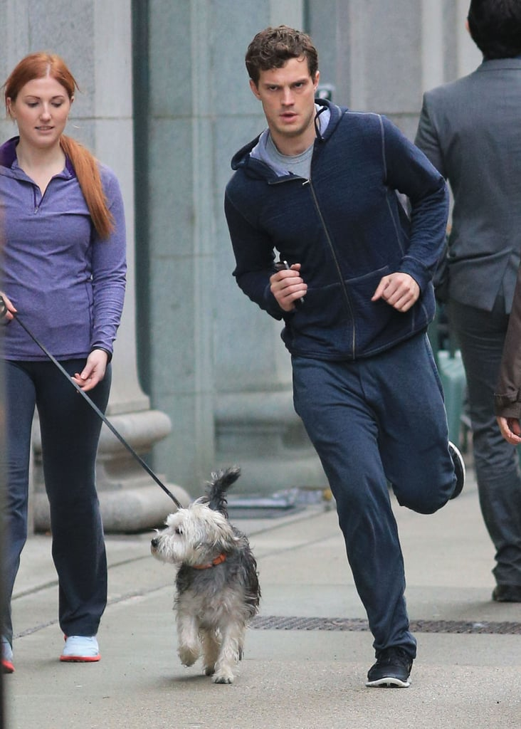 Run, Christian, Run! Anastasia Needs You