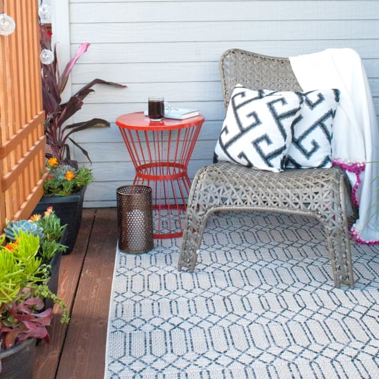 This Is How to Create a Succulent Box Privacy Trellis