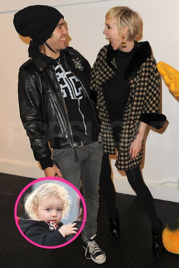 Pictures of Ashlee Simpson, Pete Wentz, and Bronx in LA