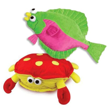 Sea Life Jumbo Grunter Dog Toys