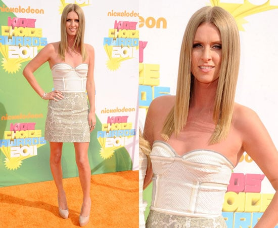 Nicky Hilton in Proenza Schouler at the Kids' Choice Awards 2011