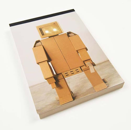 H the Happy Robot notepad ($12)