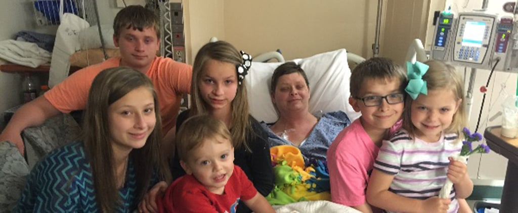 The Beautiful Thing This Woman Did For Her Best Friend's 6 Kids After Their Mom Died From Cancer