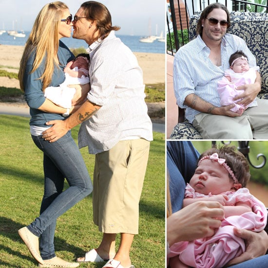 First Pictures: Kevin Federline and Victoria Prince Debut Baby Jordan Kay During a Beach Day!