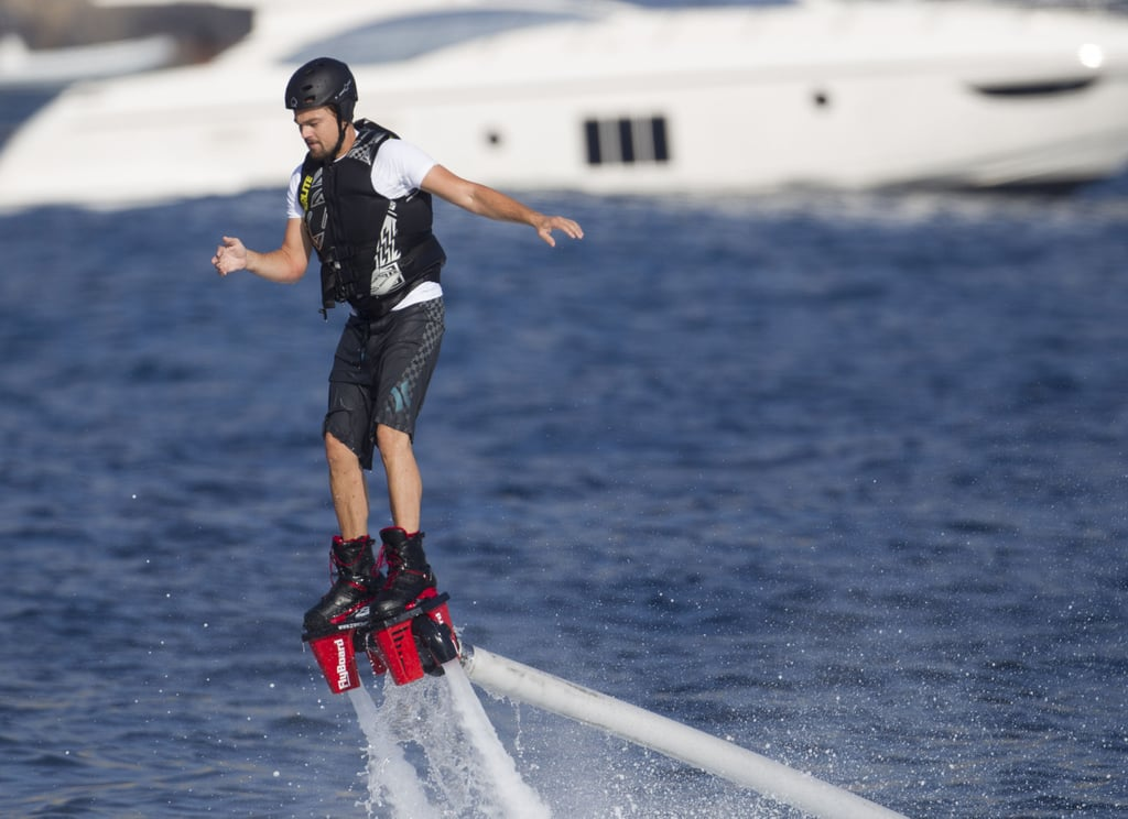 Leonardo DiCaprio's Crazy High-Tech Week on the Water