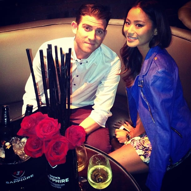 Jamie Chung and Bryan Greenberg kept the party going during NYFW. Source: Instagram user mbfashionweek