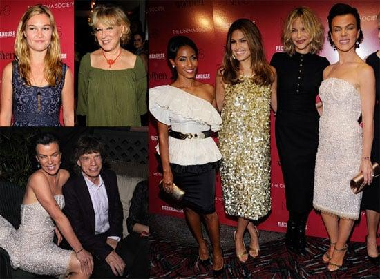 Photos of Jada Pinkett Smith, Eva Mendes, Meg Ryan, and Debi Mazar at The Women Screening in NYC
