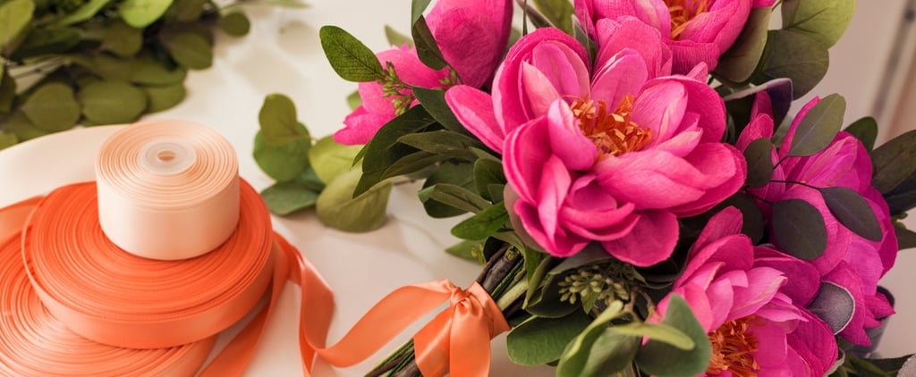 DIY Your Way to This Stunning Paper Peony Bouquet