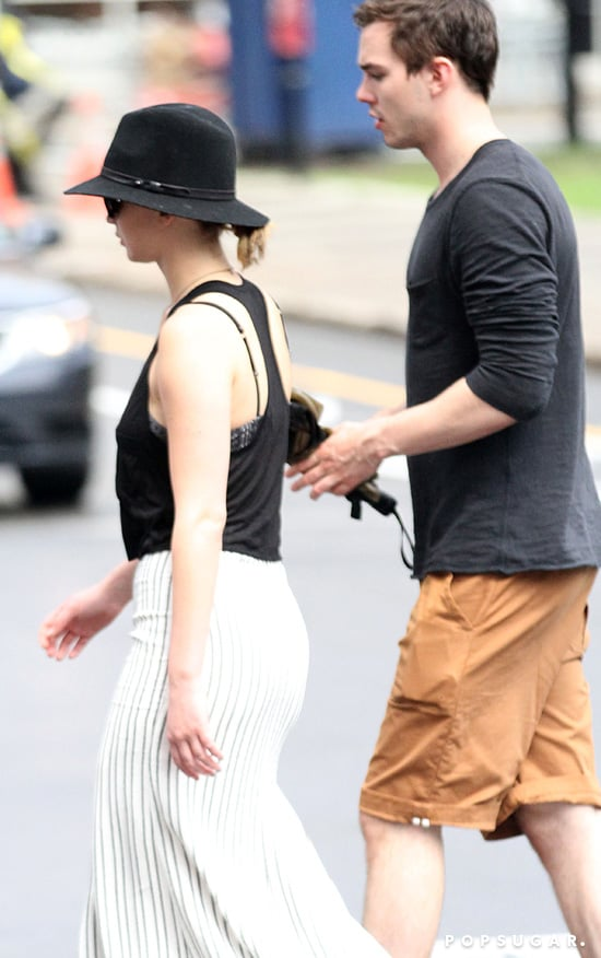 Jennifer Lawrence was out with Nicholas Hoult in Montreal.