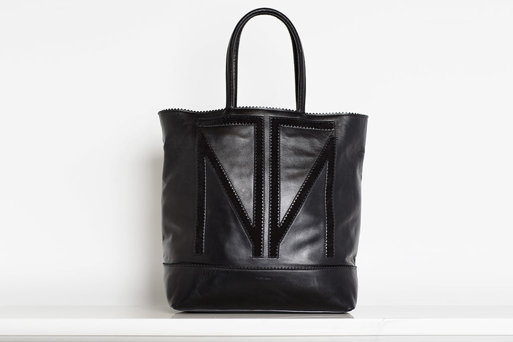 TM Love Calf Tote in Black ($995) Photo courtesy of Tamara Mellon