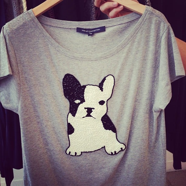 Um, hello CUTE. Here's a French Connection tee we can't wait to buy (in stores March).