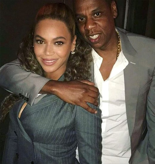 It's Very Possible Beyoncé Is Wearing a Lemonade Leotard Under Her Business  Suit