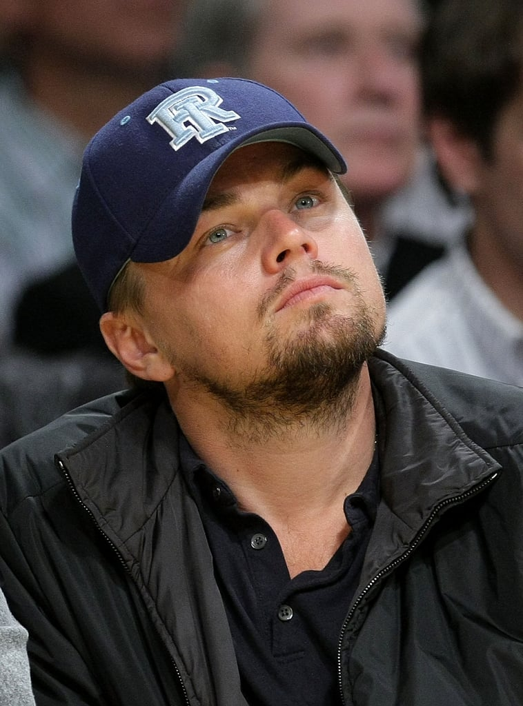 Leo at the Lakers Game