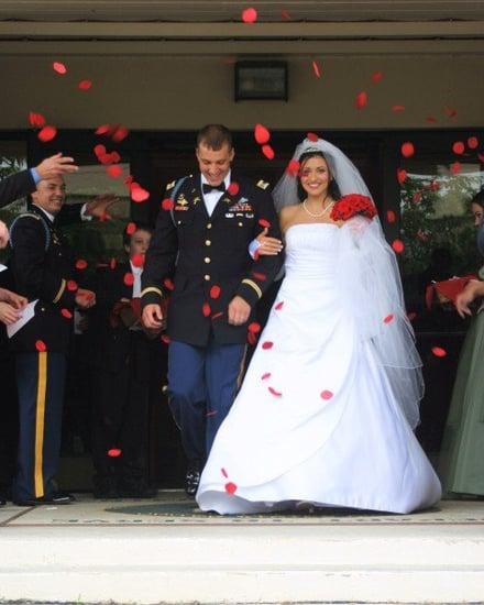 Traditional Military Wedding
