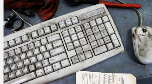 Office Keyboards Dirtier than Toilet Seats