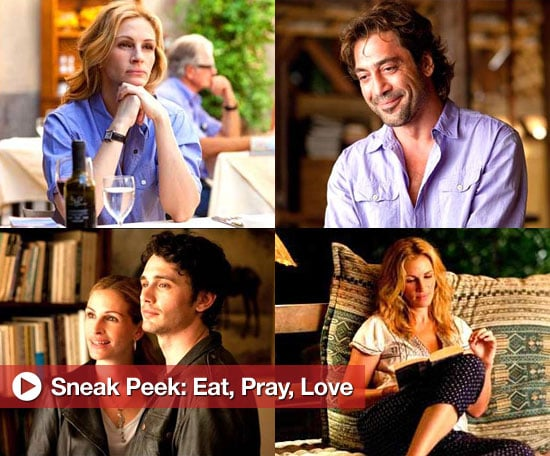 New Photos of Julia Roberts, Javier Bardem, and James Franco in Eat, Pray, Love