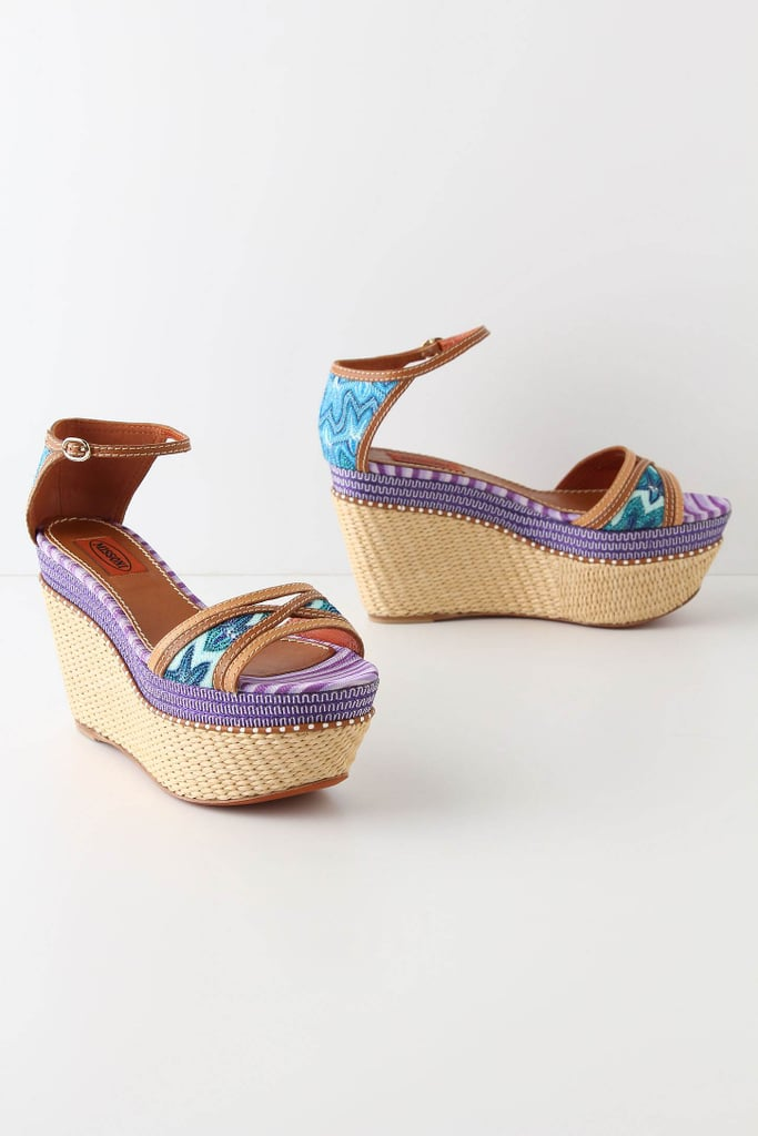 We adore these gorgeous embroidered wedges. We'd wear them with a cute midi-length dress and stacked bangles for an eclectic feel.  Missoni Olona Wedges ($400, originally $830)