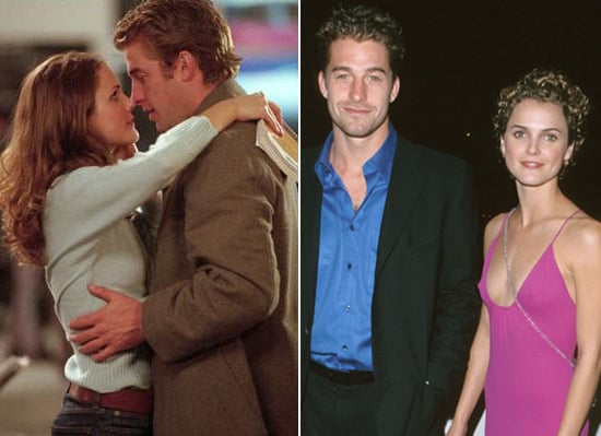 Keri Russell and Scott Speedman