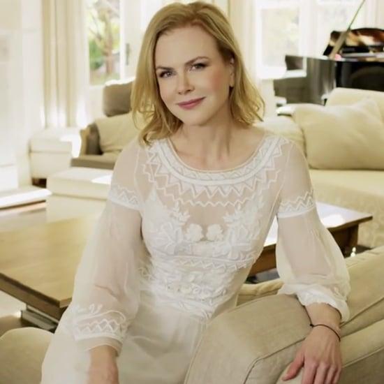 Nicole Kidman Has a Secret Message For Jimmy Fallon